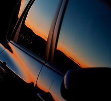 Auto Sunset by martinilogic