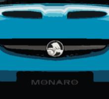 Blue Monaro Sticker