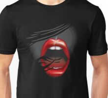 Oh, oh OMG lips Unisex T-Shirt