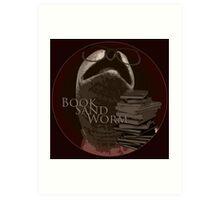 Book Sand Worm Art Print
