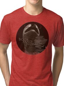 Book Sand Worm Tri-blend T-Shirt