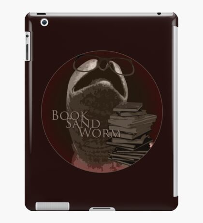 Book Sand Worm iPad Case/Skin