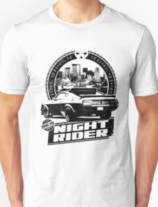 Night Rider (white) T-Shirt
