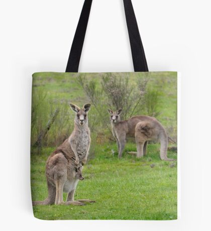 The Kangaroos of Hill End NSW Tote Bag