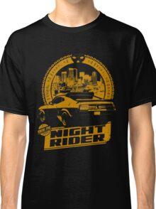 Night Rider (black) Classic T-Shirt
