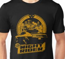 Night Rider (black) Unisex T-Shirt