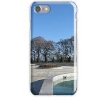 Preston Temple Forecourt - Good Friday, 2014 iPhone Case/Skin