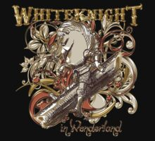 White Knight Carnivale Style - Gold Version by Sally McLean
