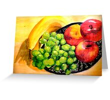 fruits Greeting Card