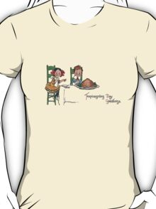 Thanksgiving Day Greetings T-Shirt