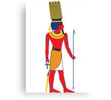 Shu [FRESH Colors] | Egyptian Gods, Goddesses, and Deities Canvas Print