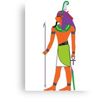 Shu Feather [FRESH Colors] | Egyptian Gods, Goddesses, and Deities Canvas Print