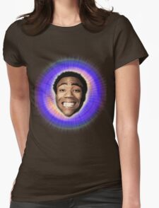 Childish Gambino (Starburst) Womens Fitted T-Shirt