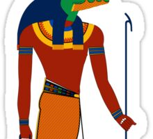 Sobek | Egyptian Gods, Goddesses, and Deities Sticker