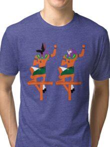 Souls of Pe and Nekhen [FRESH Colors]   Egyptian Gods, Goddesses, and Deities Tri-blend T-Shirt