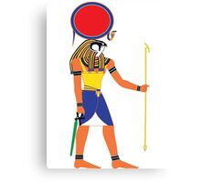 Ra or Re Version 2 [FRESH Colors] | Egyptian Gods, Goddesses, and Deities Canvas Print