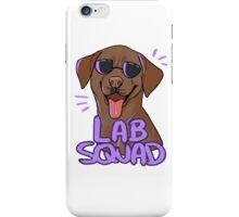 CHOCOLATE LAB SQUAD iPhone Case/Skin