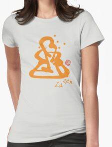 Za Zen - Orange Awakening Womens Fitted T-Shirt