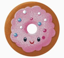 Pink Donut with Sprinkles Kids Clothes