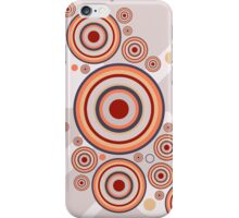 Rings of Color Abstract Graphic iPhone Case/Skin