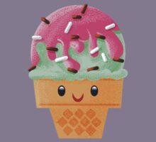 Mint Chocolate Chip Ice Cream Kids Tee