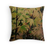 Chinese Maple Throw Pillow