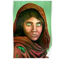 afganian girl sharbat gula Poster
