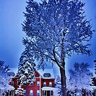Plattsburgh AFB on the Oval by Darlene Virgin