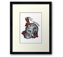 Terminator T800 Tattoo Flash Framed Print