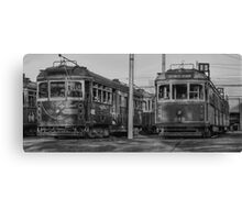 Old Trams HDR Canvas Print
