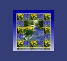 Keukenhof Gardens - Flower Lane Collage Womens Fitted T-Shirt