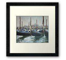 Venise. Framed Print