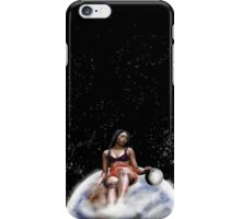 She Shapes the Moon and Stars iPhone Case/Skin