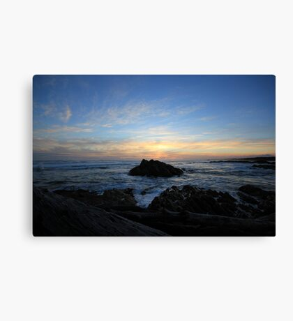 End of the world - Tasmania  Canvas Print