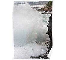 Wall of Water Poster