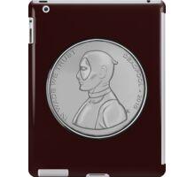 Deadpool Coin 02 iPad Case/Skin