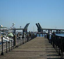 Waterside Dock, Norfolk, VA by AJ Belongia