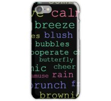 Witty with Words iPhone Case/Skin