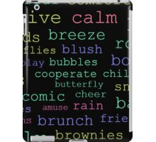 Witty with Words iPad Case/Skin