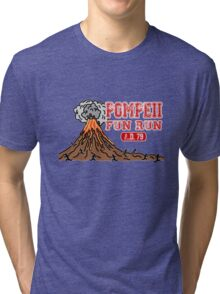 Pompeii Fun Run Tri-blend T-Shirt
