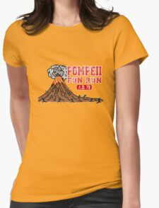 Pompeii Fun Run Womens Fitted T-Shirt