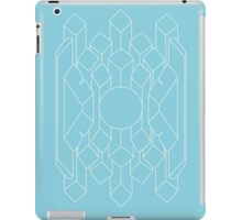 Crystal - White iPad Case/Skin
