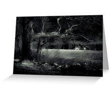 Night Walk by Witch Hollow Farm Greeting Card