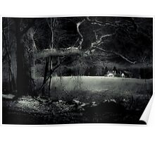 Night Walk by Witch Hollow Farm Poster