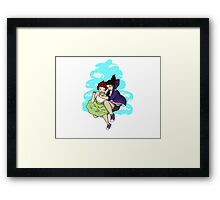 Fly, best friend, fly! Framed Print