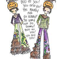Boo To You! by sammybaxterart
