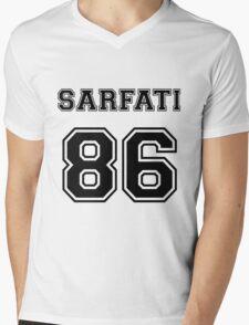 Lea Michele Jersey Mens V-Neck T-Shirt