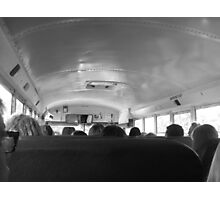 Bus Ride Photographic Print