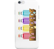 Dappers with lettering iPhone Case/Skin