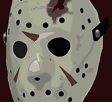 Friday The 13th: The Final Chapter Hockey Mask by ArtistADC